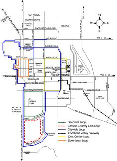 vector map of california university san francisco