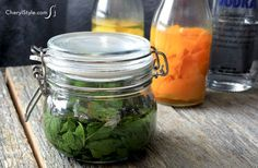 Homemade mint extract - CherylStyle