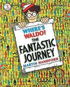 Where's Waldo The Fantastic Journey Book