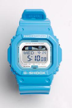G-Shock Watch in baby blue