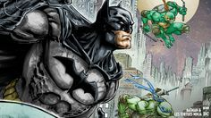 Wallpapers : Batman & les Tortues NinjaUrban Comics