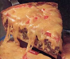 Cheeseburger Pie Recipe Another of our really great hamburger recipes is this delicious recipe for Cheeseburger Pie.Another of our really great hamburger recipes is this delicious recipe for Cheeseburger Pie. Hamburger Recipes, Meat Recipes, Dinner Recipes, Cooking Recipes, Recipies, Kosher Recipes, Healthy Recipes, Fun Recipes, Sausage Recipes