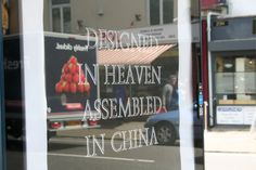 Designed in heaven  Brandalism · photo taken in Bristol, artwork by Princess Hijab