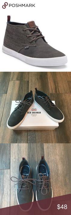 a9d43de40485 Ben Sherman Men s Bristol Chukka Sneaker SZ Ben Sherman men s chukka  sneakers in size This shoe features a round toe