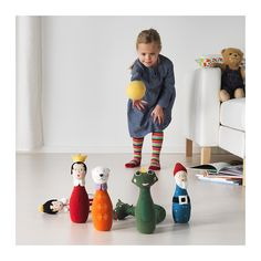 UPPTRÄDA 7-delers bowlingsett  - IKEA