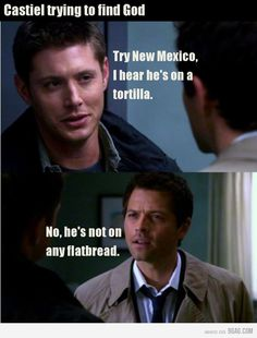 @Casy Boomershine Cas is hilariously ignorant #supernatural