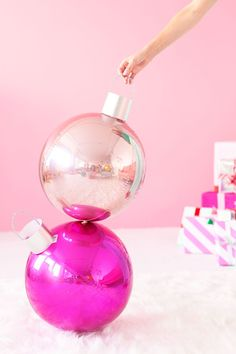 DIY Ornament Balloons