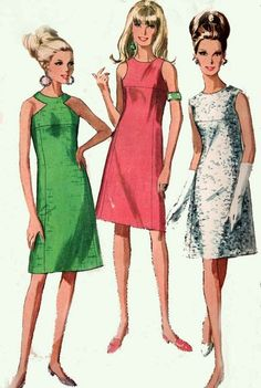 1960s Vintage Sewing Pattern simplicity 6842 Misses by sandritocat, $14.00 by chrystal