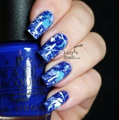 wonderfull colors and awsome technic :D Lucy's Stash - OPI Splatter Manicure