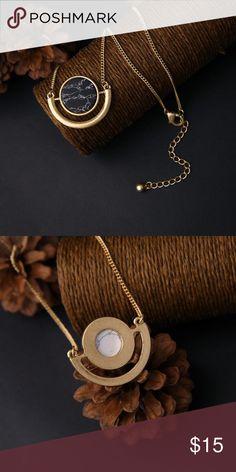 "Illuminati Necklace 18"" Semi-Precious Howlite (Dyed) Jewelry Necklaces"