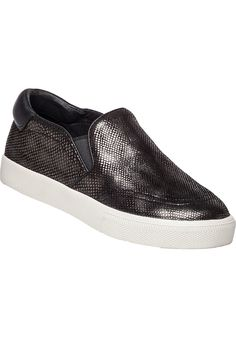 Ash Impulse Steel Scale Metal Leather Sneaker - Jildor Shoes, Since 1949