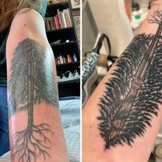 (1) Sword and the...tree? : shittytattoos