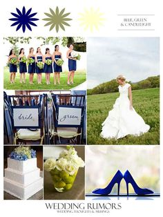 Inspiration Board: Cape Side Wedding - Blue, Green, Ivory