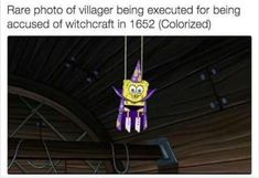 it's funny bc i'm learning about witch hunts in ap euro