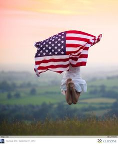 Jumping with the US Flag by Sasha L'Estrange-Bell All American Girl, American Pride, American Women, I Love America, God Bless America, Grand Tour, Doodle, Sea To Shining Sea, Let Freedom Ring