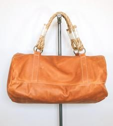 Duffel Bag with Rope Handles