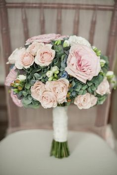 Blush Inspired Wedding from Jeremy Harwell Photography ~ Flowers by bobbymarksdesigns.com