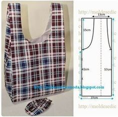 Best 11 Sewing fabric bags patterns ~ make handmade – handmade – handicraft: – SkillOfKing. Sewing Hacks, Sewing Tutorials, Sewing Projects, Sewing Tips, Bags Sewing, Techniques Couture, Sewing Techniques, Bag Patterns To Sew, Sewing Patterns