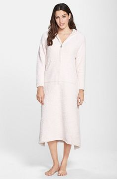 Barefoot+Dreams®+CozyChic®+Hooded+Zip+Robe+available+at+#Nordstrom