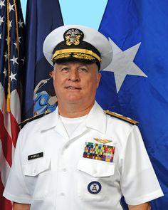 "New York Naval Militia Rear Admiral Ten Eyck ""Trip"" Powell"