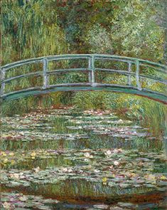 Monet - Bridge over water lillies