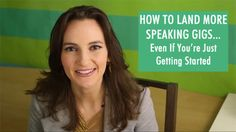 Want to be a public speaker or do more speaking for your business? Here's how: http://nathalielussier.com/blog/business-blog/how-to-land-speaking-gigs/
