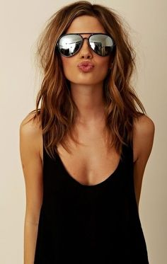 Love everything about this hair. After cutting it off, this is what I will grow it out to. LOVE the color