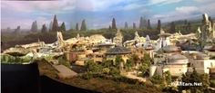 Star Wars Land Model Revealed at 2017 D23 Expo / #Holiday @ #WDW? Book an #Orlando #Disney #vacation with @VimanaGroup / http://ift.tt/2sCkiqr
