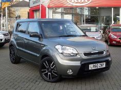 Used 2010 (60 reg) Grey KIA Soul 1.6 CRDi Tempest 5dr Auto for sale on RAC Cars
