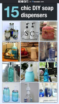 15 Chick DIY Soap Dispensers