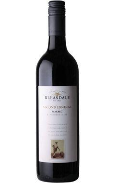 Bleasdale Heritage Second Innings Malbec 2017 Langhorne Creek - 6 Bottles Malbec Red Wine, Red Wines, Cheap Red Wine, Wine Safari, Red Grapes, Wine Online, French Oak, Berries, Bottles
