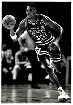 Scottie Pippen, Chicago Bulls.