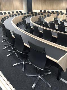 Auditorium in Blavatnik School of Government | Oxford | Herzog and de Meuron | Modus conference chair | #wilkhahnUK | #modus