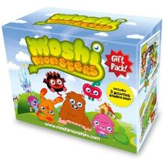 Moshi Monsters Gift Pack: Amazon.co.uk: Toys  Games