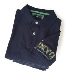 Polo's met kleurrijke logoborduring voor Ixorg - het alternatief voor de aanvullende tandartsverzekering.