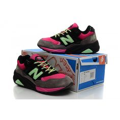 New Balance 580 Black Grey And Pink Women Shoes Cheap Discount of sixty percent