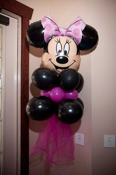"Photo 9 of 13: Minnie Mouse and Zebra Print / Birthday ""Bethenny Turns 2"" 