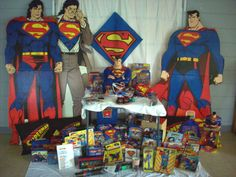 SUPERMAN COLLECTION 20  Years of Superman Items Entire Collection to be Sold