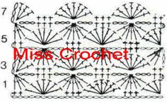 Ms.crochet: Catherine wheel stitch and tutorials for all other kinds of crochet stitch. Great resource!