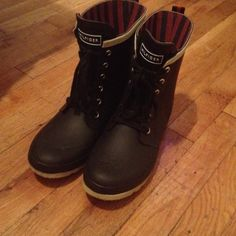 Authentic Tommy Hilfiger Rainboots SOLD Roomy. Lovely. Unique. Used Twice. Tommy Hilfiger Shoes Winter & Rain Boots