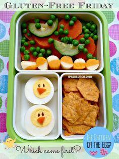 comida bento para niños