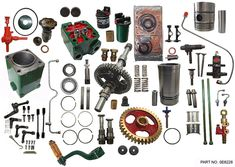 Spare Parts for Lister Diesel Engine