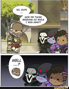 Reapers face says it all