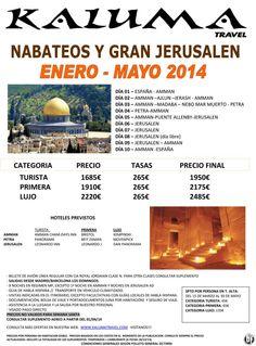 Nabateos y Gran Jerusalen ultimo minuto - http://zocotours.com/nabateos-y-gran-jerusalen-ultimo-minuto/
