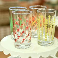 Party Glasses from Fishs Eddy #MyWeddingRegistryStyle