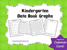 Simply Kinder: Kinder Data Book Freebie!  Ready to print and use including tips from someone who lived it and survived it!  =)