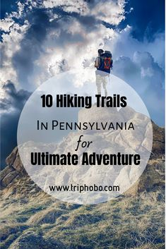 10 Hiking Trails In Pennsylvania For Ultimate Adventure If you are a trekking enthusiast and wish to explore the diversity of terrains the state offers, look at these 10 best hiking trails in Pennsylvania Hiking Places, Hiking Spots, Camping Spots, Hiking Tips, Camping And Hiking, Places To Travel, Hiking Trails In Pa, Travel Destinations, Pacific Crest Trail