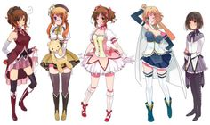 Madoka magica and Hetalia crossover .My favorites are Canada as Mami and N.Italy as Madoka LOL XD<<< ONLY IF YOU IGNORE ALL EPISODES AFTER 1