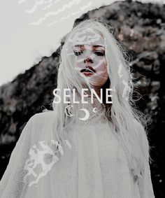 SELENE was the titaness of the moon, or the moon personified into a divine being. She is called a daughter of Hyperion and Theia, and accordingly a sister of Helios and Eos. Selene is described as a very beautiful goddess, with long wings and a golden diadem, and Aeschylus calls her the eye of night. She rode, like her brother Helios, across the heavens in a chariot drawn by two white horses, cows, or mules.