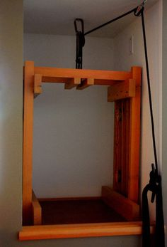 Pulley Dumbwaiter On Pinterest Pulley Laundry Chute And